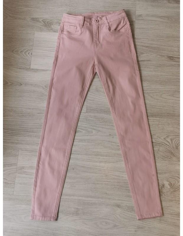 Pantalón pitillo - Modelo L12811-2 push up - Color rosa