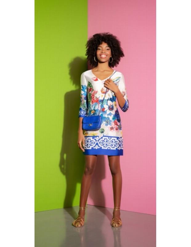 Vestido floral - Modelo 44567