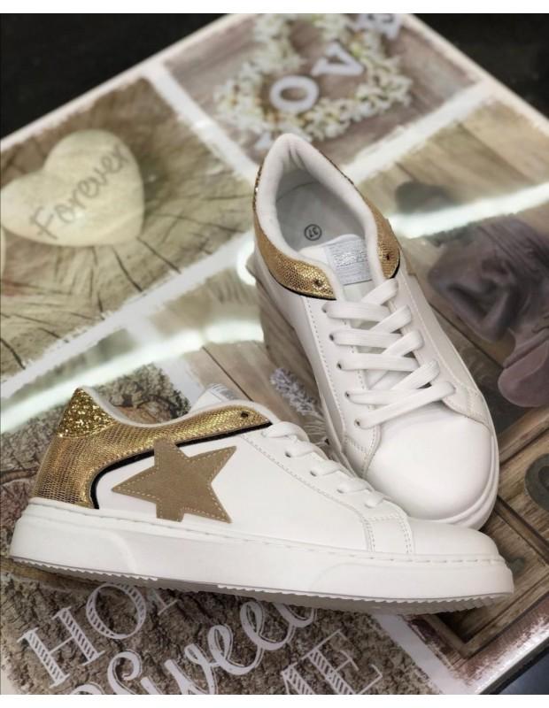 Bamba estrella - Modelo estrella - Color dorado