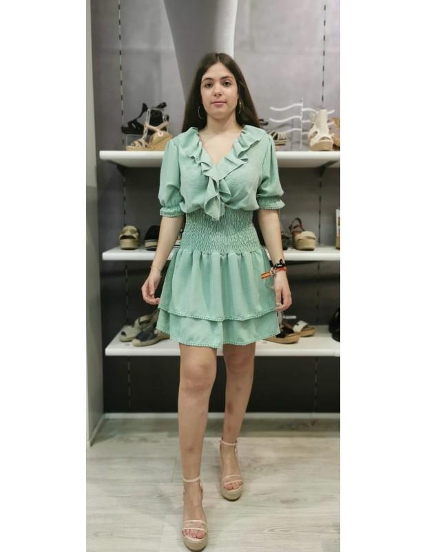 Vestido Valeria - Modelo 098021 - Talla única 36 a 42