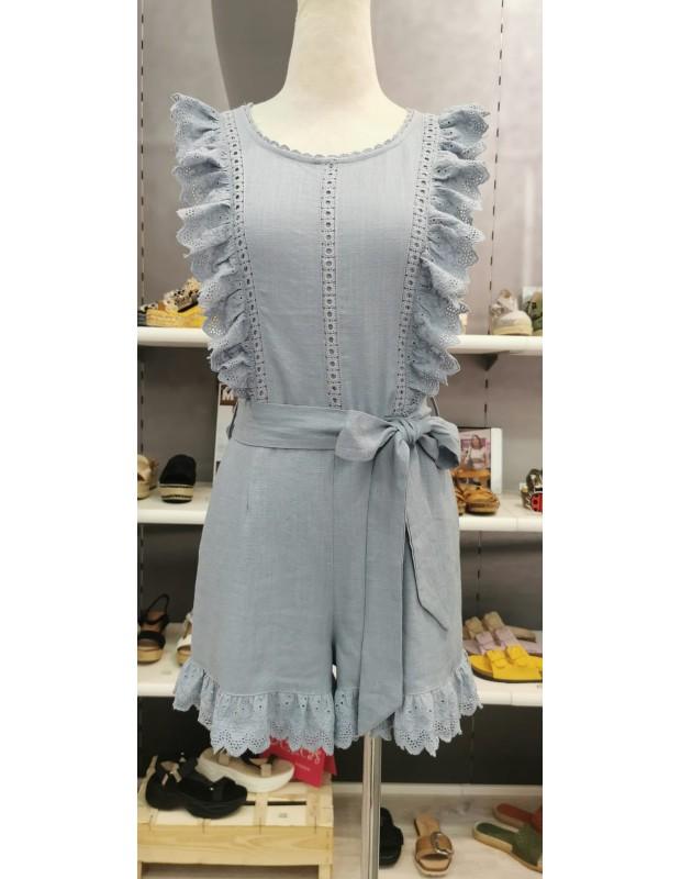 Mono Carolina - Modelo 0125021 - Color azul
