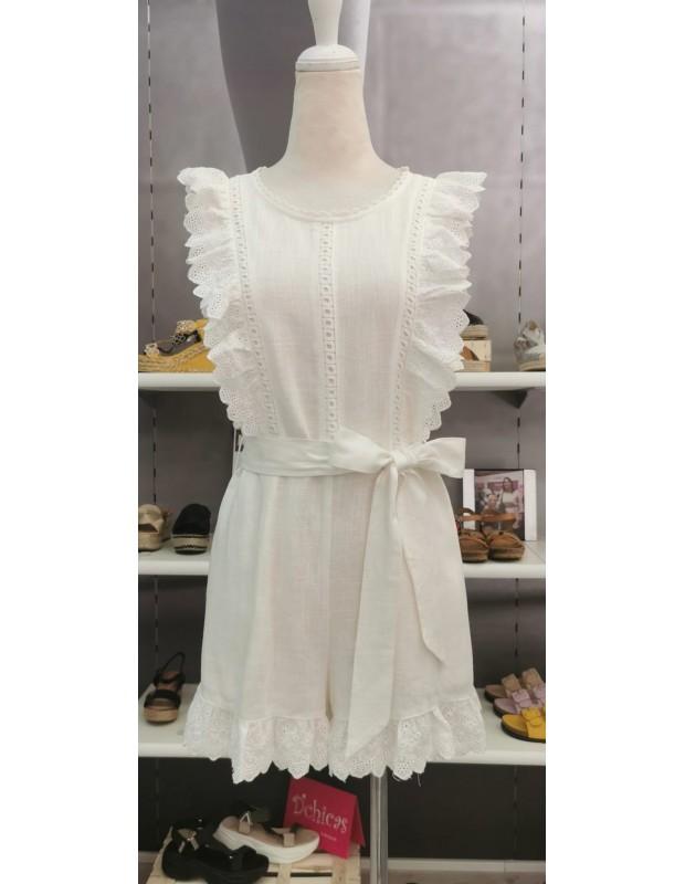 Mono Carolina - Modelo 0125021 - Color blanco