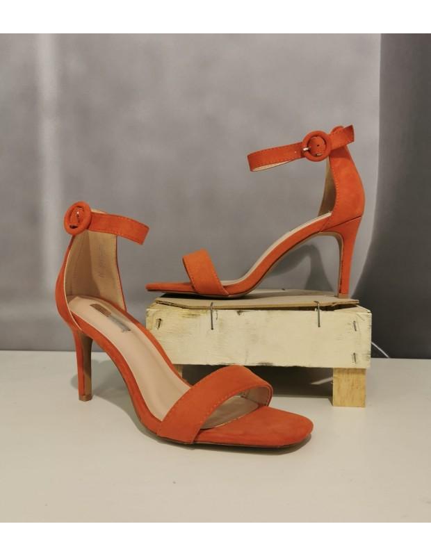 Sandalia Jilda - Color Naranja