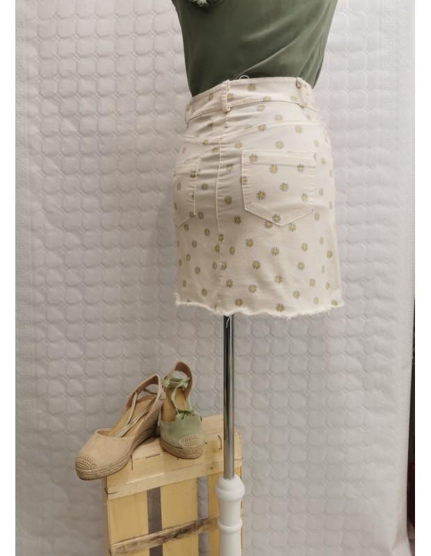 Falda - Modelo 5196 Bianca - Color beis