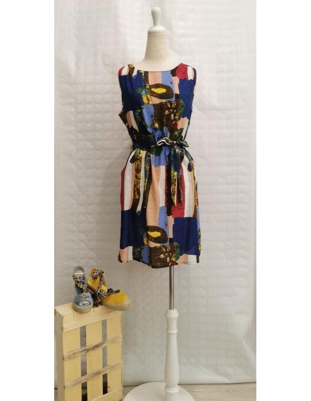 Vestido - Modelo Y8921 vero - Color azul