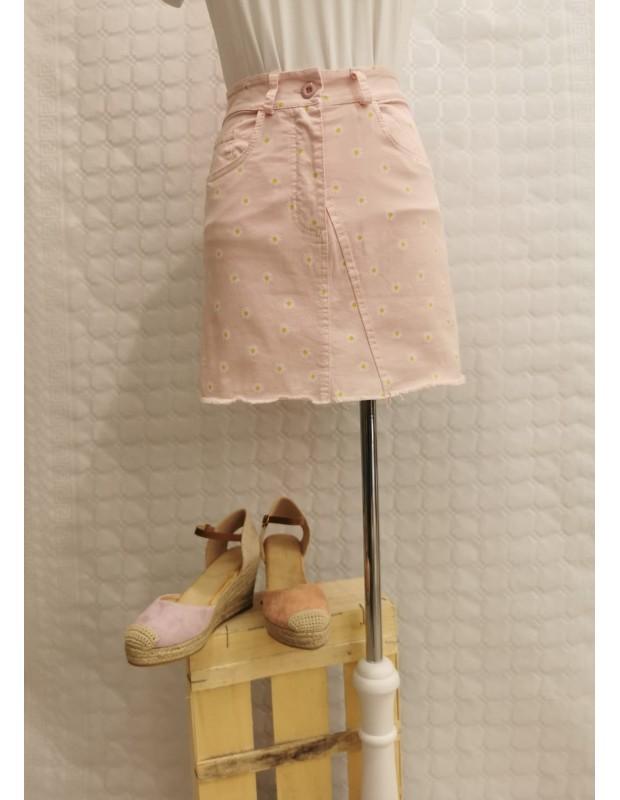 Falda - Modelo 5196 Bianca - Color rosa palo