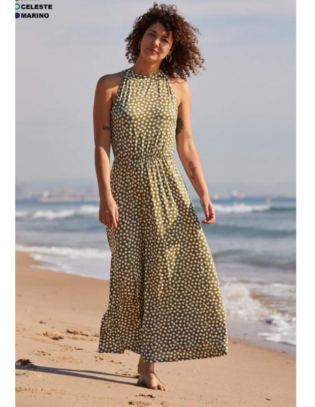 Vestido Sevilla - Modelo MR9397B - Color verde