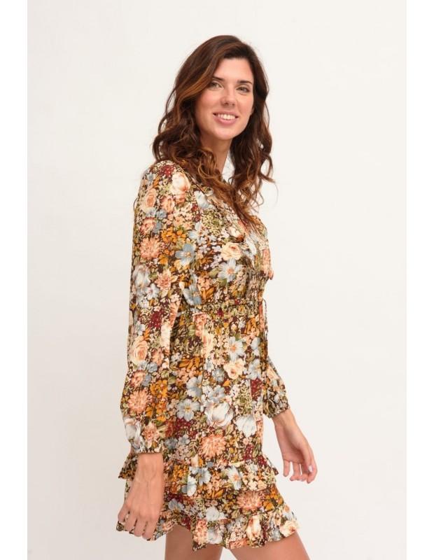 Vestido flora. Modelo MR-0109022.