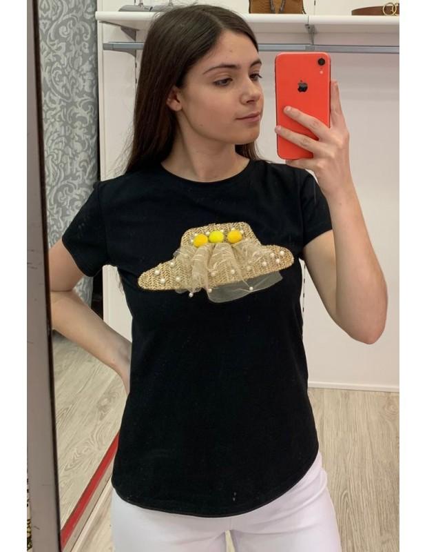 Camiseta de mujer - Modelo D8030 sombrero