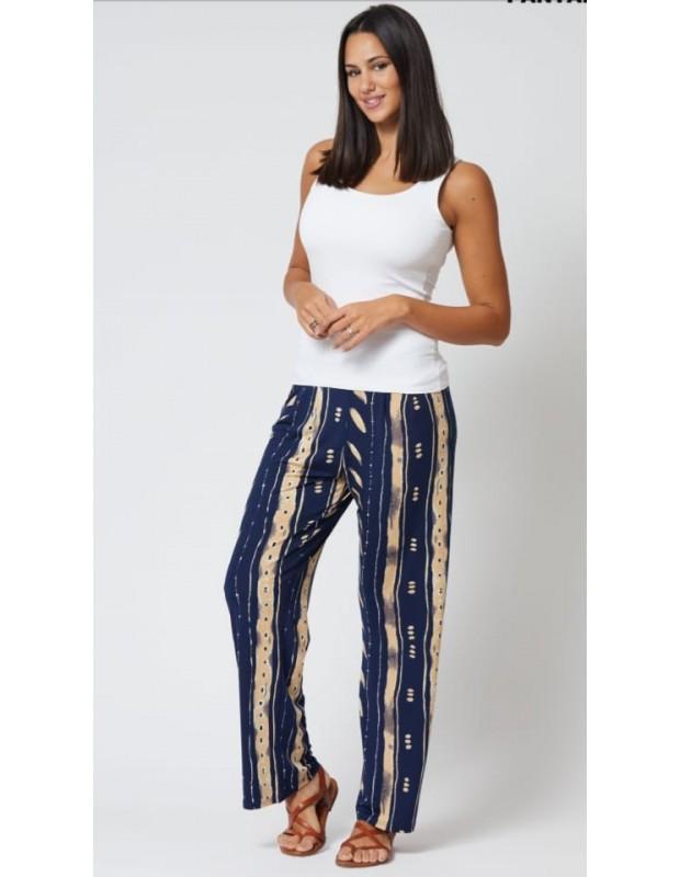 Pantalón de mujer de espigas - Modelo MQ8861D