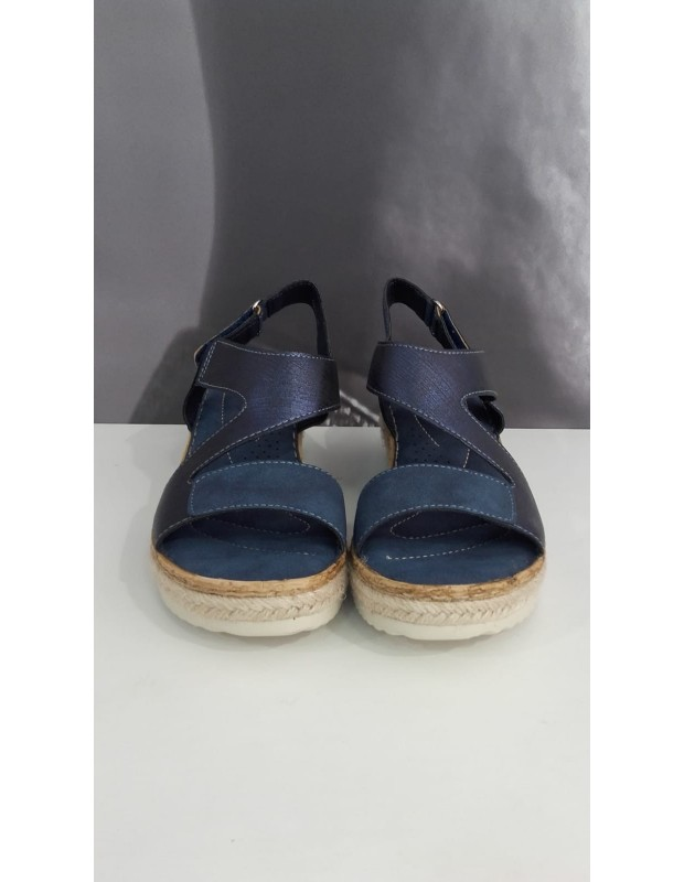 Sandalia anatómica - Modelo 303FX - Color azul