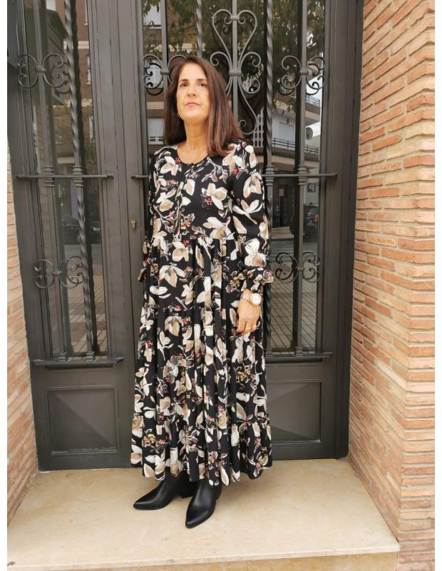 Vestido de mujer. Modelo 01120 Cristina.