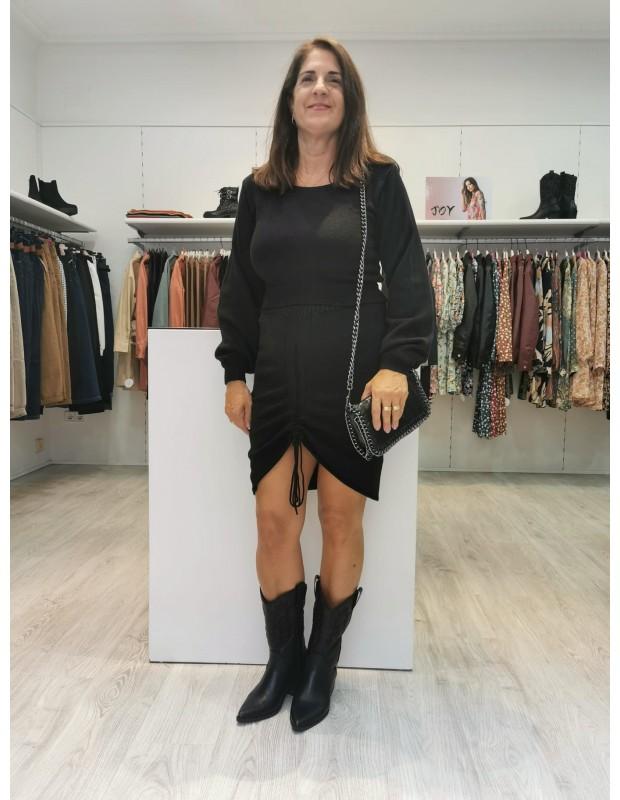 Conjunto nudo para mujer. Modelo 2136 paola. Talla única (36 - 40). Color negro.