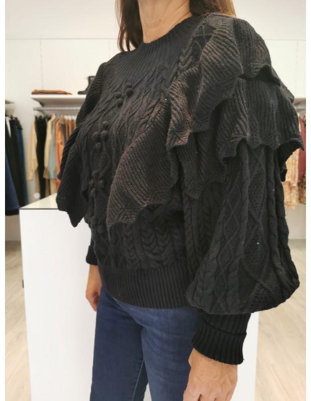 Suéter de mujer Modelo 2581 Ibiza. Talla única. Color negro.
