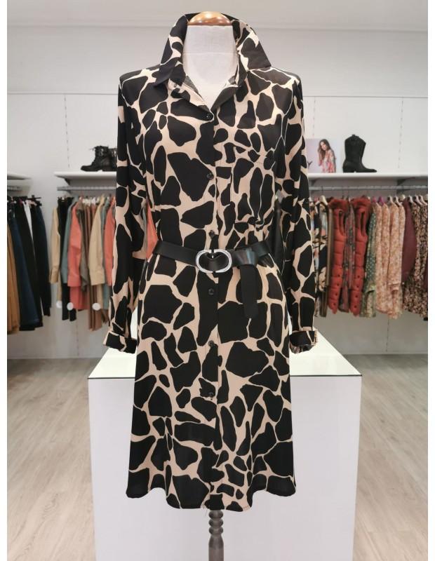 Vestido camisero para mujer - Modelo 075021C